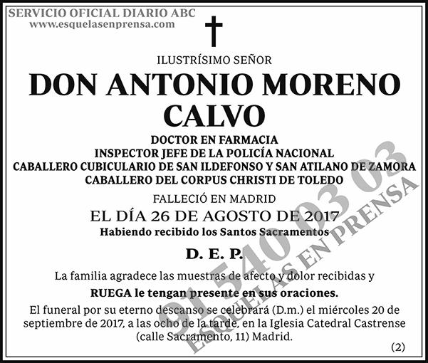Antonio Moreno Calvo